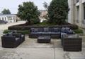outdoor wicker sectional sofa 4
