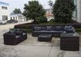 outdoor wicker sectional sofa 5