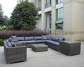 outdoor wicker sectional sofa 6