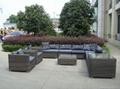 outdoor wicker sectional sofa 1