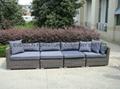 outdoor wicker sectional sofa 7