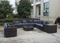 outdoor wicker sectional sofa 8
