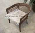 rattan dining table set 2