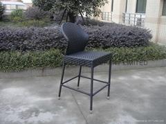 Evensun rattan bar chair