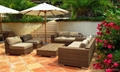 High quality rattan outdoor furniture