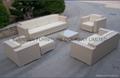 Handmade rattan furniture