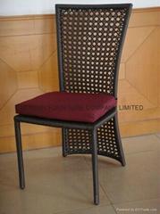 Elegant Rattan Outdoor Chairs