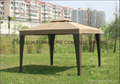 Outdoor rattan gazebo tent 1