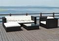 China classical rattan sectional sofa