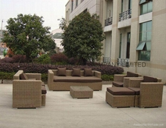 Rattan wicker garden furniture wholesaler