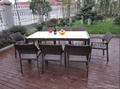 High quality 8 seat luxury dining room set 3