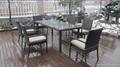 Hot sale rattan wicker kitchen dining room furniture 3