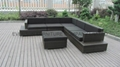 Luxury Rattan Corner Sofa Set 3