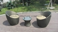 Outdoor Furniture Coffee Table Chair