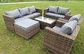 all weather rattan sofa sets