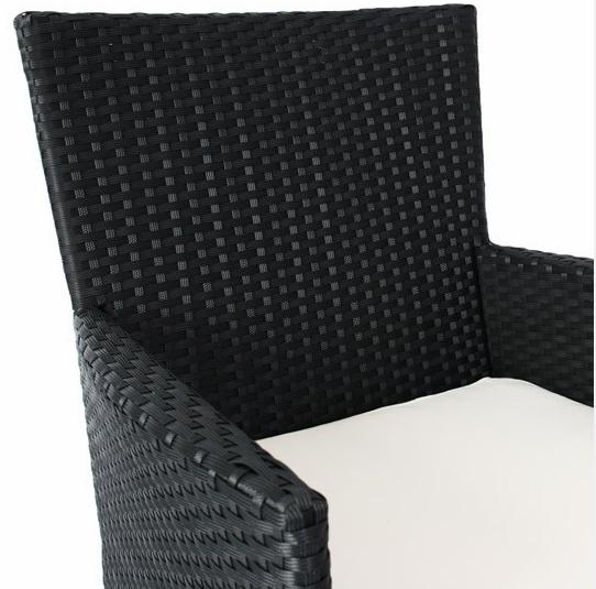 black rattan dining set 2
