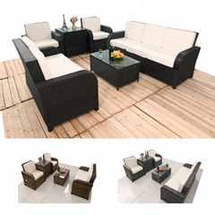 6pcs rattan 3 2 1  sofa set  (Hot Product - 1*)
