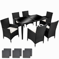 6 chairs with1 table