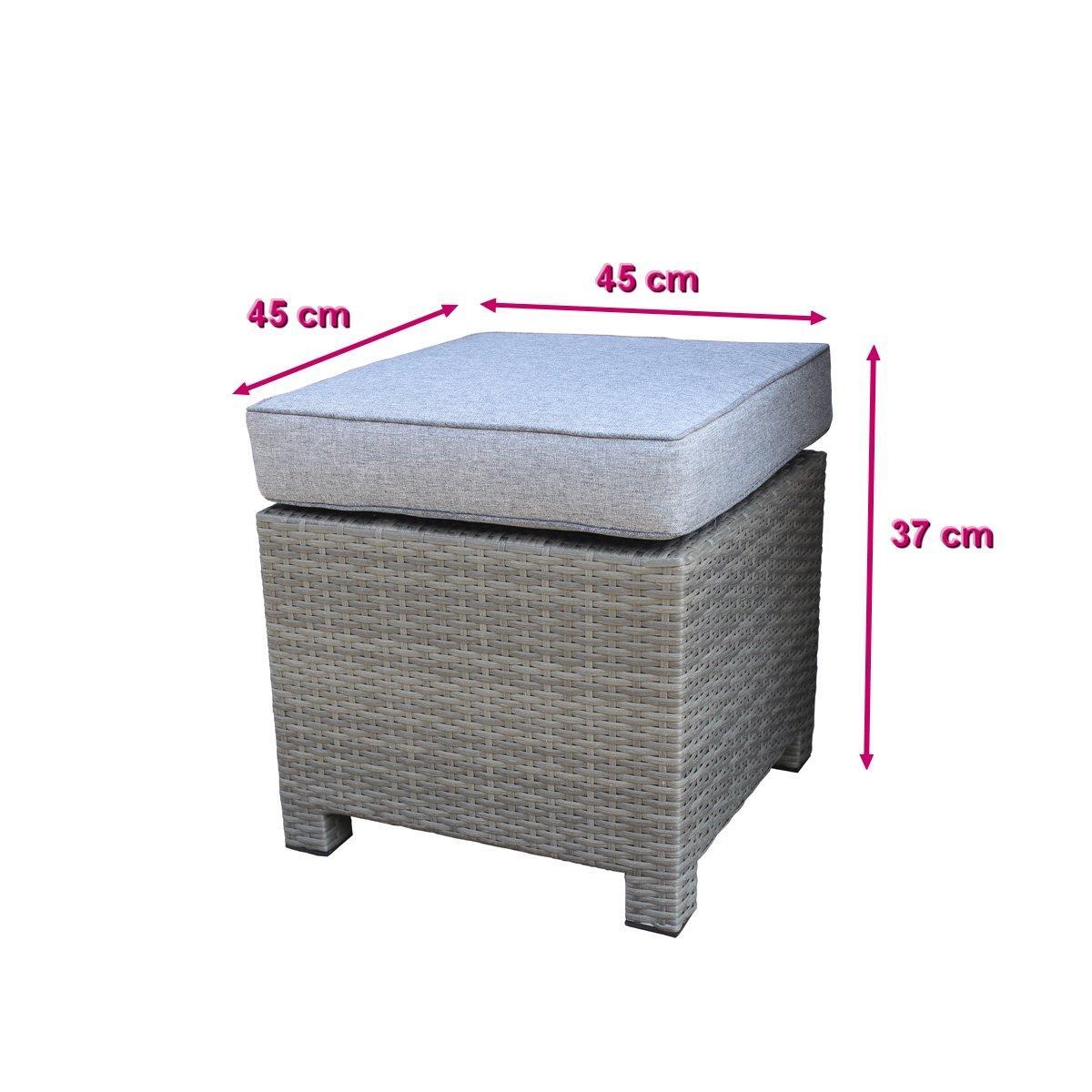 5pcs corner sofa set +  2 stools  2