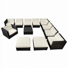 12pcs sofa set