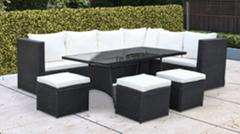 Rattan sofa outdoor corner sofa