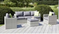 New Design Wicker Sofa Rattan Sofa Outdoor Furniture Patio Furniture Garden Sofa