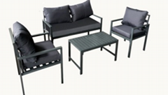 Patio Gathering Dining Table and Chair Dining Furniture