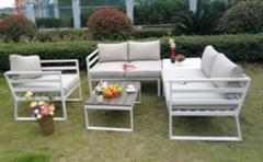 Customized Modern Design Outdoor Hotel Sofa Teak Furniture Factory