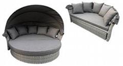 Home Furniture Modern Outdoor Chair Terrace Terrace Weaving Rattan Sofa