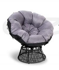 Modern Outdoor Rattan Swivel Chair Living Room Lounge Chairs Patio Swivel Leathe