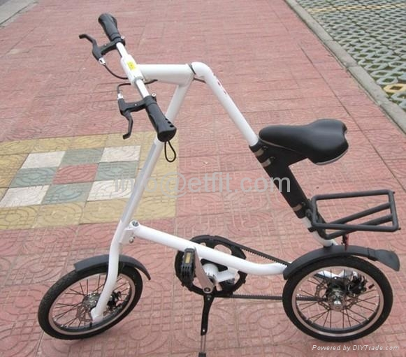 10 Speed Folding Bike