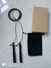 Aluminium Speed Jump Rope- (2) Adjustable 10 Ft Cable - Steel Ball Bearings