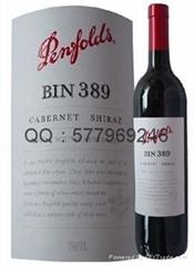 進口奔富澳洲品牌奔富389 干紅葡萄酒
