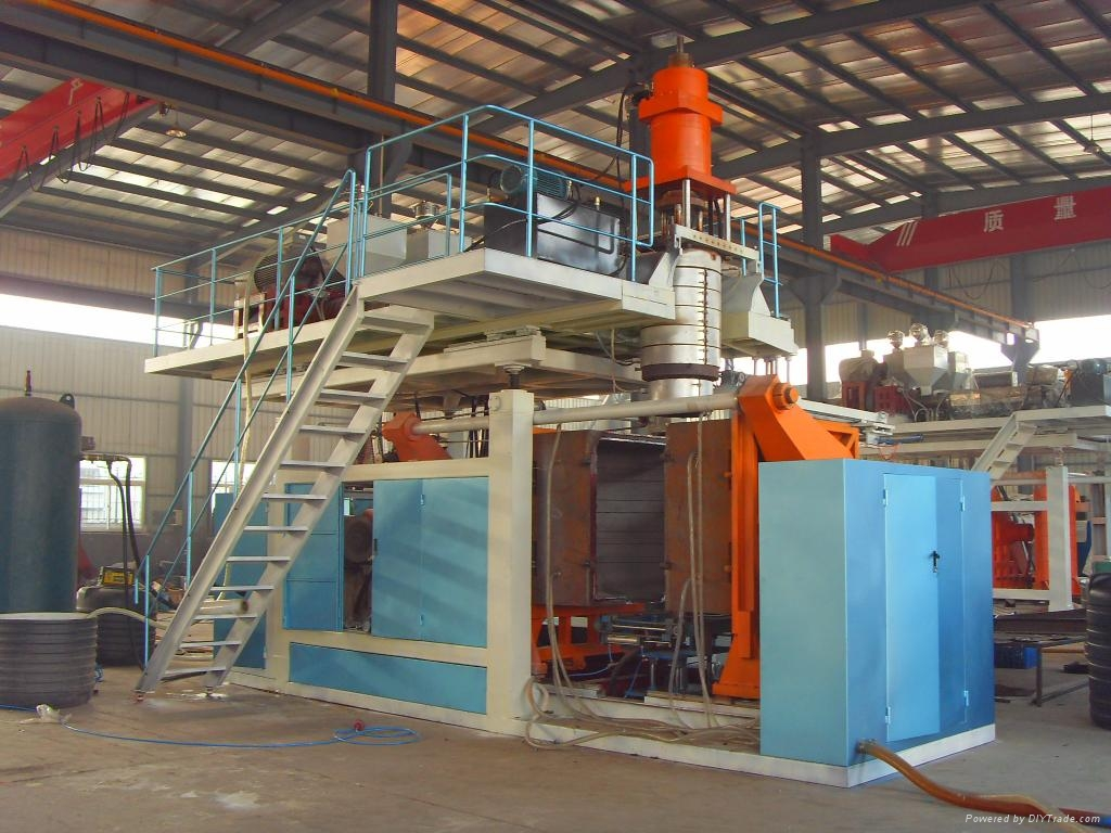 3000L Double Layers Extrusion Blow Molding Machine 1