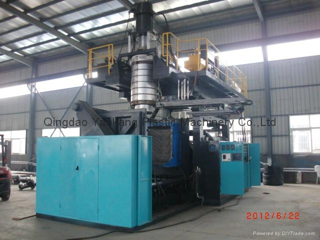 Single Ring Drum Blow Molding Machine For 200L 1