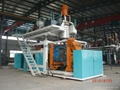 2000L Double Layers Blow Molding Machine