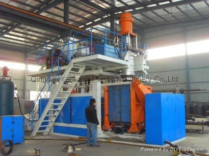 200L Double Ring Drum Blow Molding Machine 1