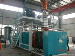 Double Ring Blowing Mold Making Machine