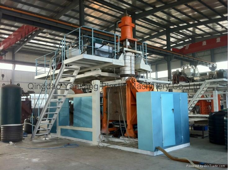 200L Double Ring Drum Blow Molding Machine 1