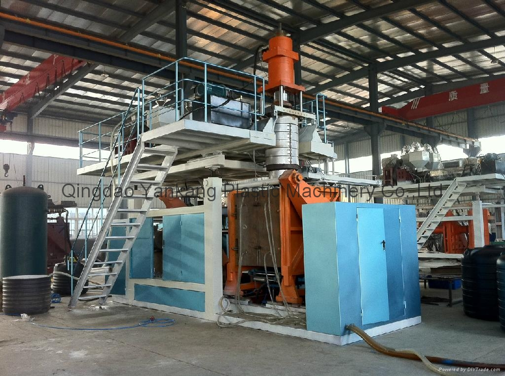 500L Three Layers Blowing Mold Machine 1