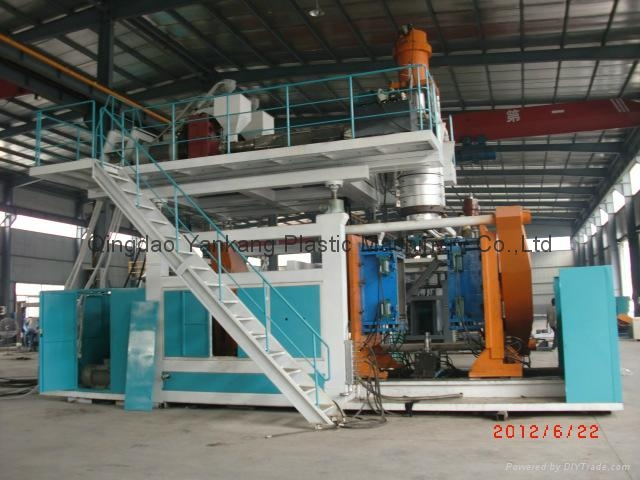 500L Two Layers Water Tank Blow Molding Machine 1