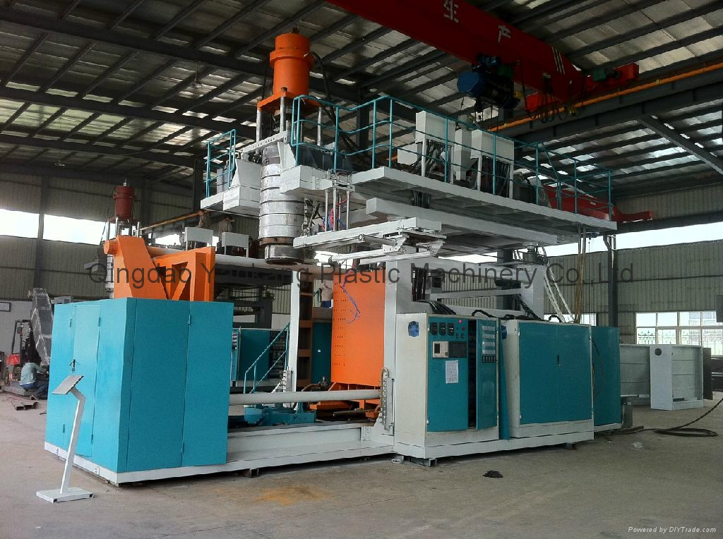 2000L Double Layer Water Tank Blow Molding Machine 1
