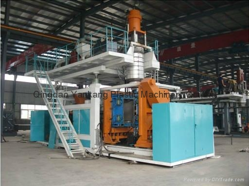 3000L Three Layers HDPE Tank Blowing Mold Machine 1