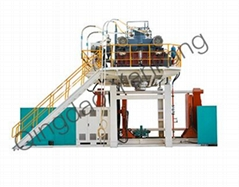 3000L Three Layers Storage Water Tank Blow Moulding Machine