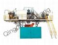 3000L Three Layers HDPE Bow Molding Mchine 3