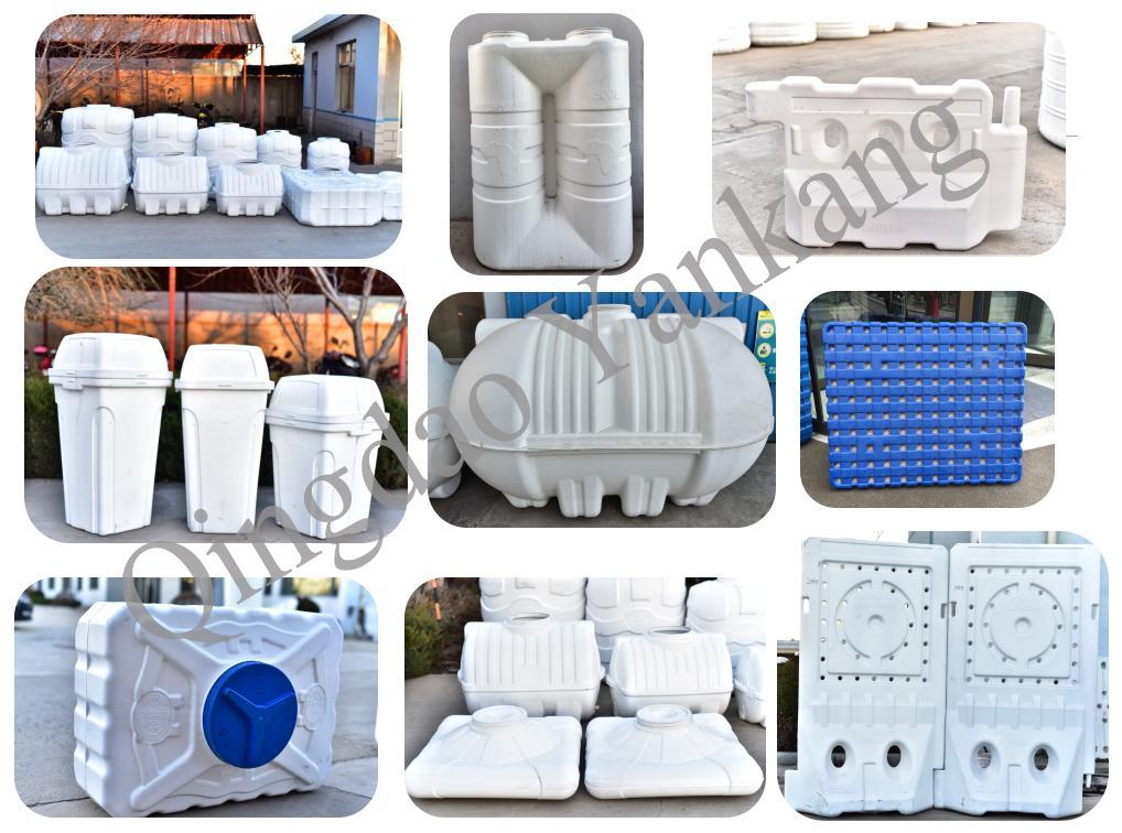 3000L Three Layers Storage Water Tank Blow Moulding Machine 3