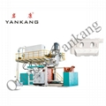 Plastic Road Safety Barrier Signal Traffic Block Blow Molding Making Machine