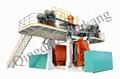 Plastic Pontoon Floating Dock Cube Buoys Making Extrusion Blow Molding Machine