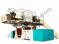 3000L Double Layers Plastic Extrusion Blowing Mold Making Machinery