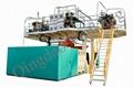 L Ring Drum Plastic Chemical Blow Moulding Machine